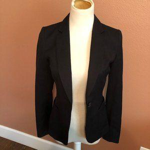 H&M blazer/jacket/coat black size 4